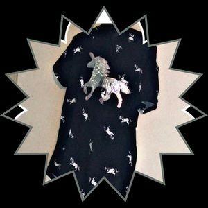 T-shirt with hood Sequin Unicorn